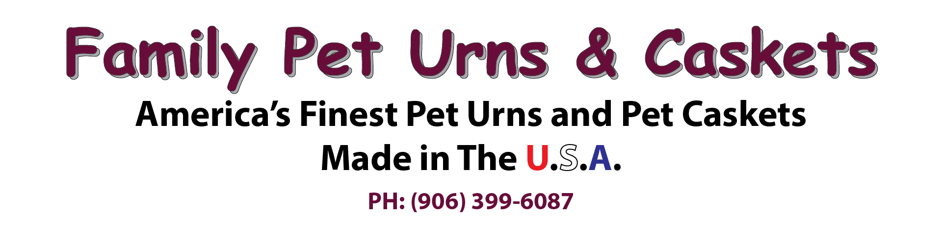 Pet Urns and Pet Caskets
