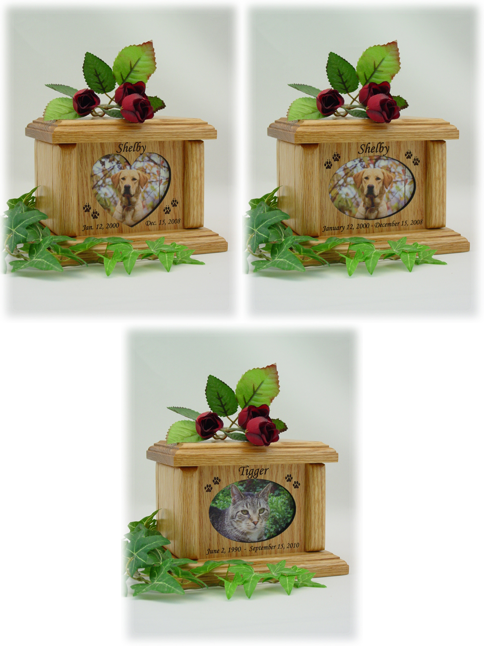 Photo Pet Urns - Small