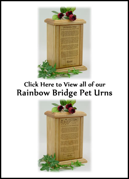 Rainbow Bridge Urns - Pet Urns